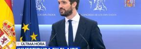 Casado, sobre la reunión con Sánchez: «La única oferta al PP ha sido que nos abstengamos»