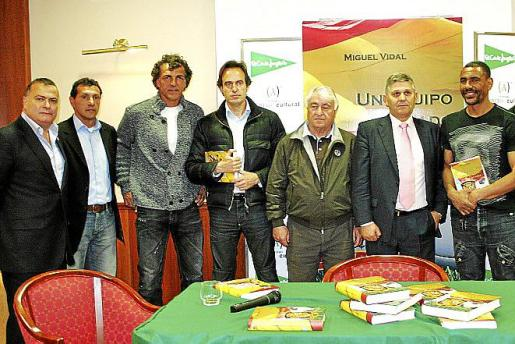 Jordi Morey, Ernesto Vargas, Miquel Ángel Nadal, Miguel Soler, Julià Mir, Germán Rodríguez y Engonga.