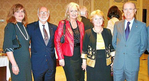 Kimberley Marshall, José María Lavilla, Amy Christensen, Kathleen Hennessey y Antoni Terrassa.