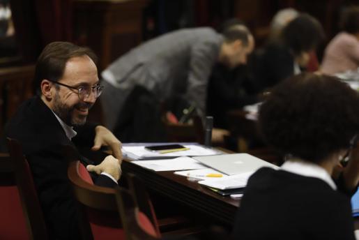 Josep Castells, portavoz de Més per Menorca en el Parlament.