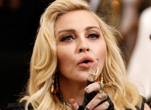 La diva del pop Madonna.