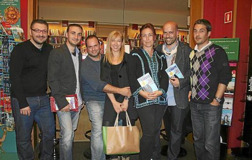 Xisco Nadal, Lorenzo Cloquell, Joan Manel Vadell, Fanny Pons, Elena Sánchez de Movellán, Xavi Fullana y Pedro Atienza.