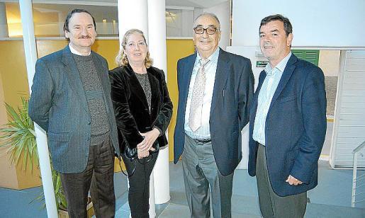 Jaume Bonnin, Rita Forteza, Miquel Segura y Sebastià Serra.