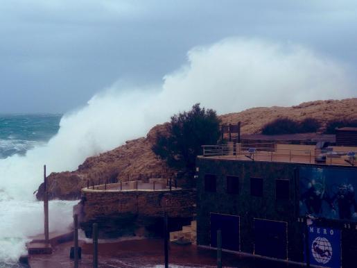 El viento soplará con fuerza en Mallorca y habrá mala mar.