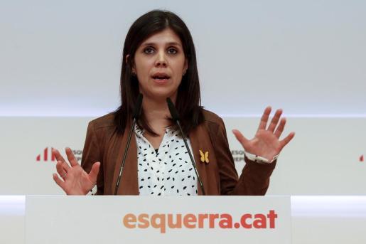 La portavoz de ERC, Marta Vilalta, en una imagen de archivo