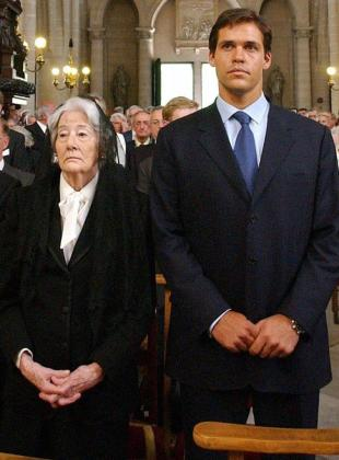 Emmanuella Dampierre junto a Luis Alfonso de Borbón,en una imagen de archivo.