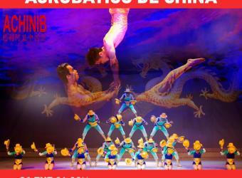 Gran circo acrobático de China