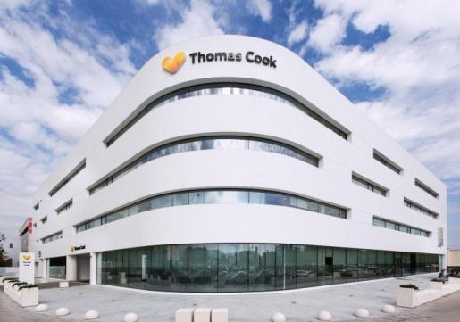 Una de las sedes de Thomas Cook en Palma