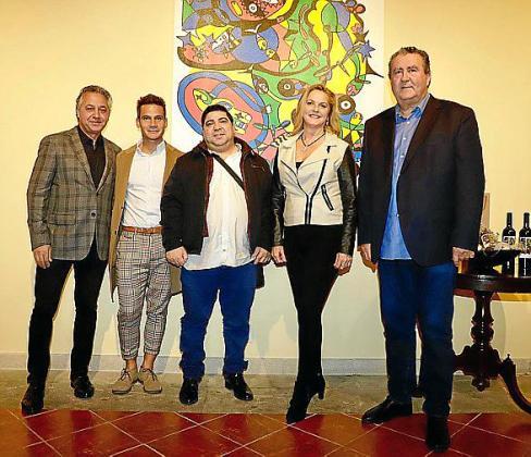 Xisco Barceló, Bruno Sotos, José Luis Mesas, Francisca Sampol y Ramon Servalls.