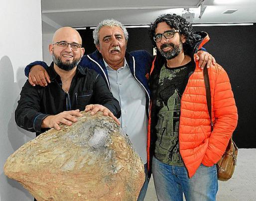 Mario Pomreinke, Joan Oliver y Guillem Vicens.