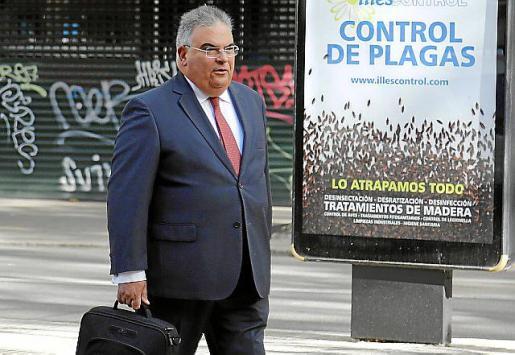 El fiscal superior, Bartomeu Barceló.