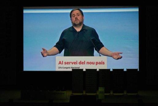 Oriol Junqueras ha enviado un audio al congreso de ERC.