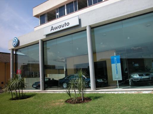 Sede de Awauto, concesionario oficial de Audi y Volswagen.