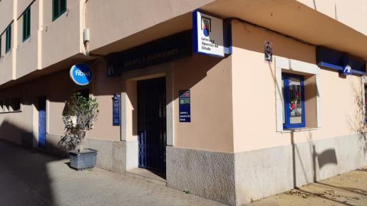 La administración de Consell, donde se ha vendido un quinto premio.