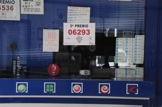 La Pepita de Oro, en Palma, ha vendido un décimo del quinto premio 06293.