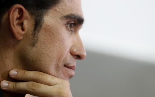 El ciclista madrileño Alberto Contador.