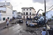 Fuertes lluvias en Sant Llorenç