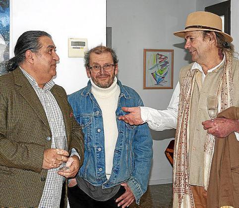 Guillermo Rodriguez, Carlos Nogueira y Jaime Colorao.