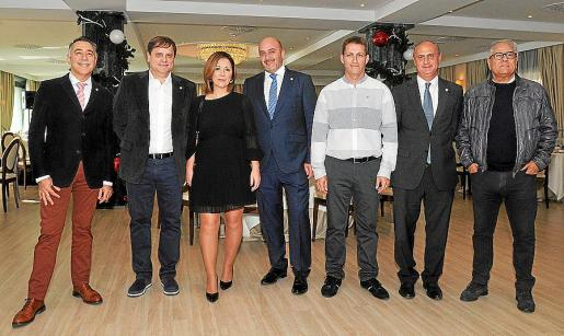 Llorenç Garcia, Pedro Polo, Ana Mª Pereiro, Juan Manuel Cobacho, Juan Díaz, Juan Daniel Rosselló y José Buenaventura.
