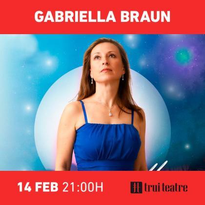 Gabriella Braun actúa en Trui Teatre.