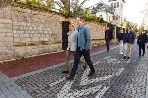 Iñaki Urdangarin ha pasado la Nochebuena y el día de Navidad con su familia en la vivienda de su madre, Claire Liebaert, en Vitoria.