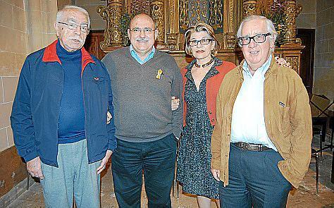 Andreu Figuerola, Lluís Maicas, Maria Maicas y Biel Domenech.