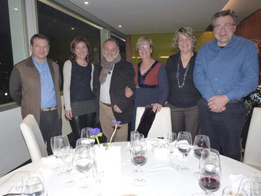 Maties Garcias, Nanda Ramon, Miguel Janer, Joana Lluïsa Mascaró, Margalida Tous y Jaume Oliver.