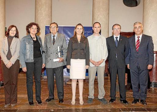 Catalina Sureda, Francisca Llabrés, Uli Werthwein, María Salom, Jordi Ribas, Joan Rotger y Miquel Barceló.