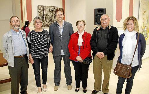 Manuel Mercader, Francisca Barceló, Bernat Bonet, Esperanza Cladera, Tomeu Lladonet y Amparo Albelda.