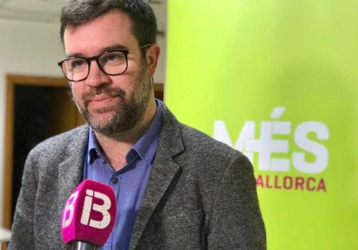 Antoni Noguera, coordinador de Més per Mallorca.