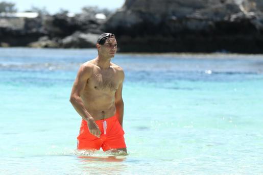 Imagen de Rafael Nadal durante su visita a Rottnest Island en vísperas del debut en la Copa ATP en Australia.