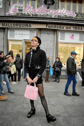 Samantha Hudson posó en Madrid para este diario.