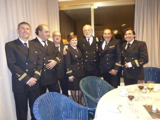 Bartolomé Cañellas, Felipe Baza, José Luis Ramia, Julia Alarcos, Esteban Horvath, Miguel Vidal y Xavier Barbany