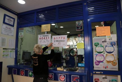 La lotería del Niño dejó premios en Palma el año pasado.