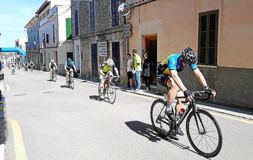 El pueblo también es escenario de pruebas ciclistas.