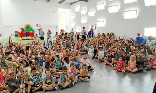 Imagen de archivo de alumnos de Primaria en el Col·legi Ses Finestres Verdes, de Palma.