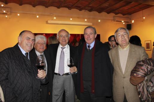 Manolo González, Tomeu Gomila, Sebastià Rubí, Joan Company y Fernando Mulet.