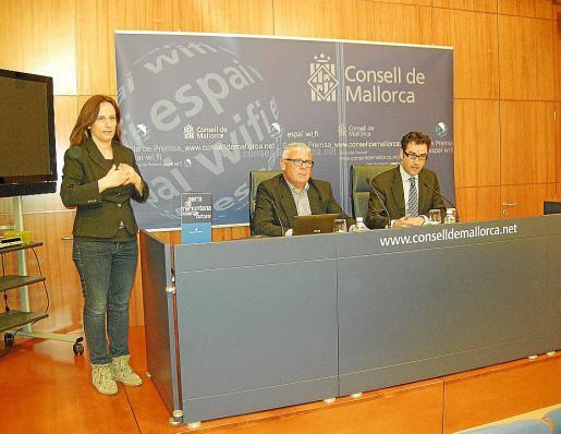 Bernardí Coll y Jaume Joan, en la rueda de prensa celebrada ayer.