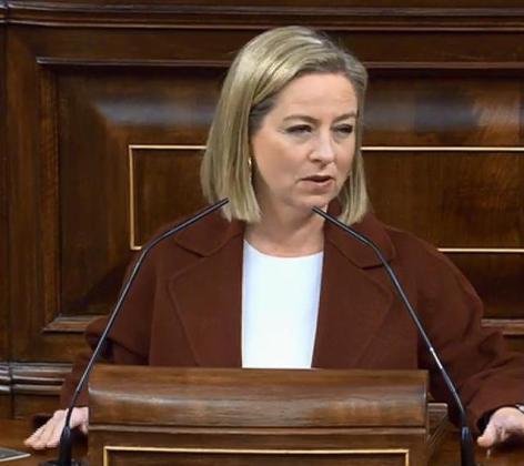 Ana Oramas, diputada de Coalición Canarias.
