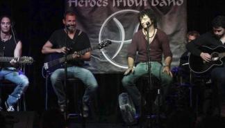 El homenaje de Heroes Tribut Band llega a La Movida