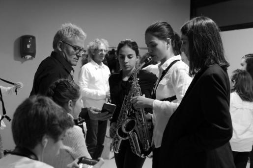 Primer concierto de jóvenes músicos en el Auditòrium de sa Màniga.