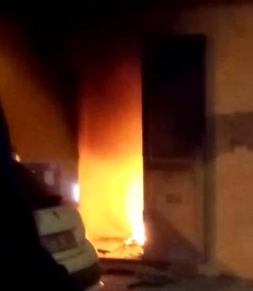 Incendio en el local 'okupado' de Inca.