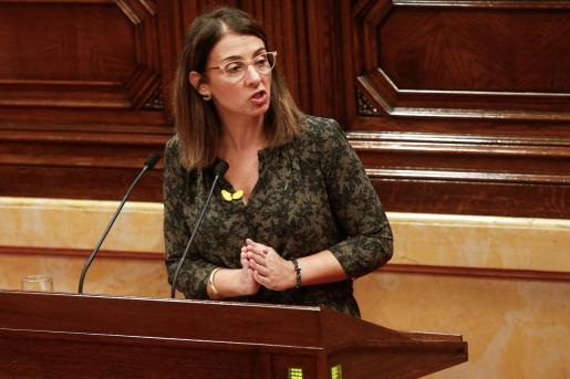 La consellera de Presidencia, Meritxell Budó.