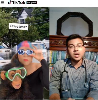 La aplicación TikTok triunfa entre los jóvenes.