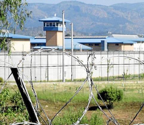 Fachada de la cárcel de Palma.