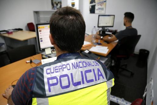 Imagen de archivo de las dependencias en Palma de la Unidad de Familia y Mujer de la Policía Nacional.