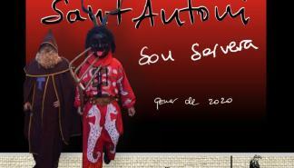 'Foguerons' y 'dimonis' por Sant Antoni en Son Servera
