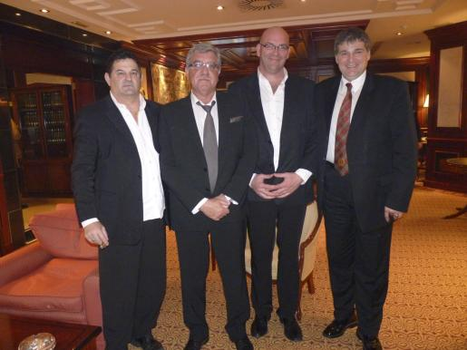 Richard Masforni, Jean Michel Sabate-Ferris, Denis Polet y Manel Pons.