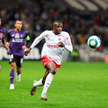 Imagen de Hassane Kamara durante un partido reciente.