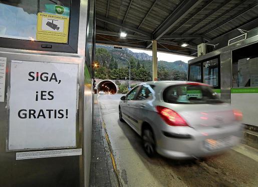 El rescate de la concesión se produjo en 2017 y la apertura del túnel se hizo en diciembre de ese año.